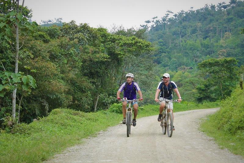 cycling in Quito, Ecuador
