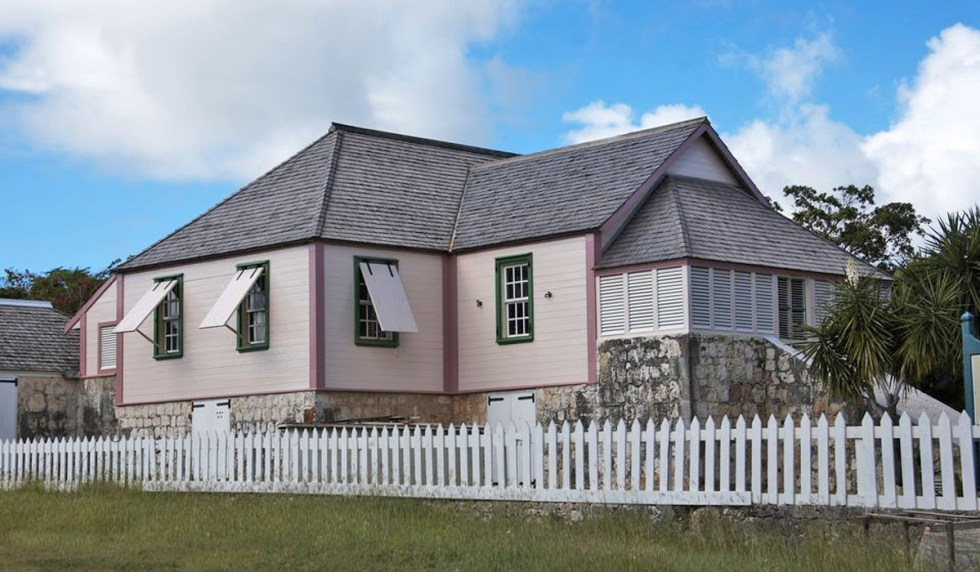 Wallblake House (built in 1787 by Will Blake, oldest surviving plantation house on Anguilla)