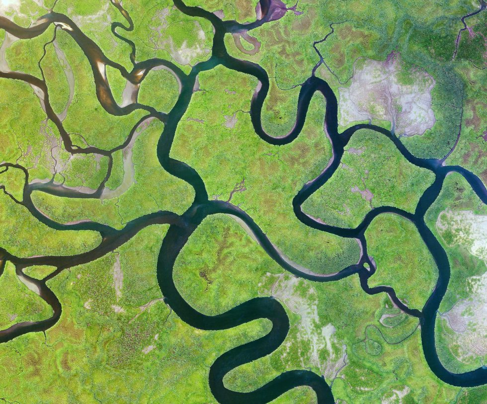 West Africa rivers
