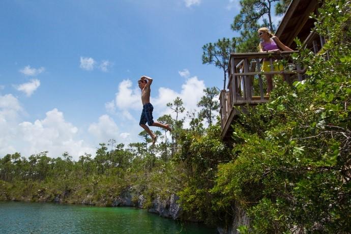 Bahamas blue hole 3