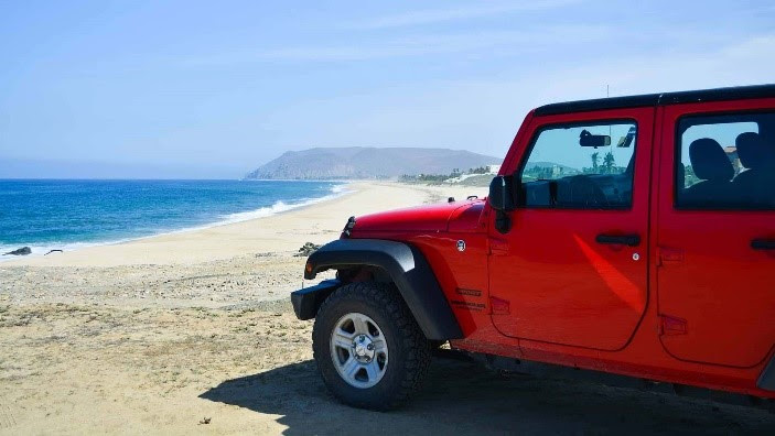 Jeep at Los Cabos, Mexico