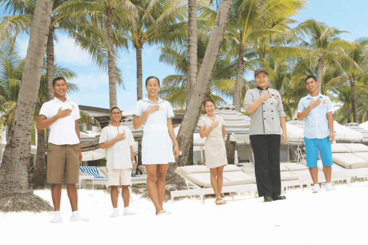 tourism workers in Boracay, Philippines