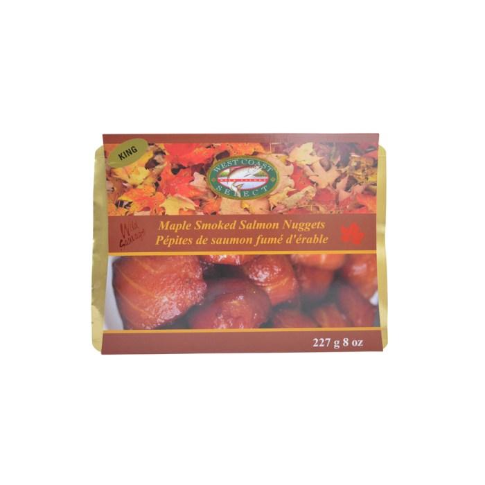 Maple Smoked Wild Salmon Nuggets