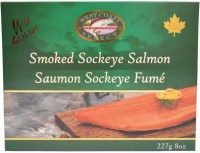 Sockeye Salmon Smoked Gift Box 8 oz