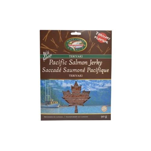 Wild Pacific Canadian Salmon Jerky (Teriyaki)