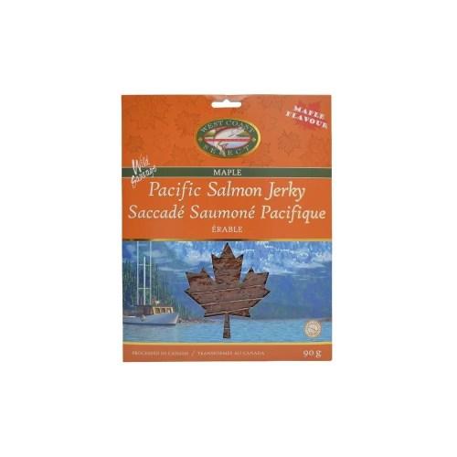 Wild Pacific Canadian Salmon Jerky (Maple)