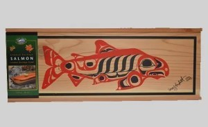 Salmon gift Box