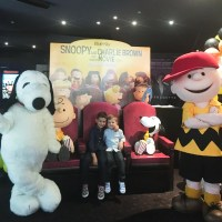 "Charlie Brown Cafe & Family holiday entertainment with ""The Peanuts Movie"""