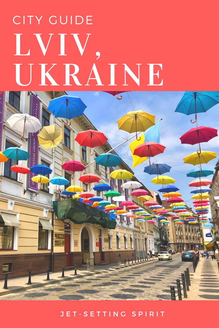 City Guide Lviv Ukraine | Jetsetting Spirit | Travel Lviv | Travel Ukraine | #travel #ukraine #lviv #cityguide