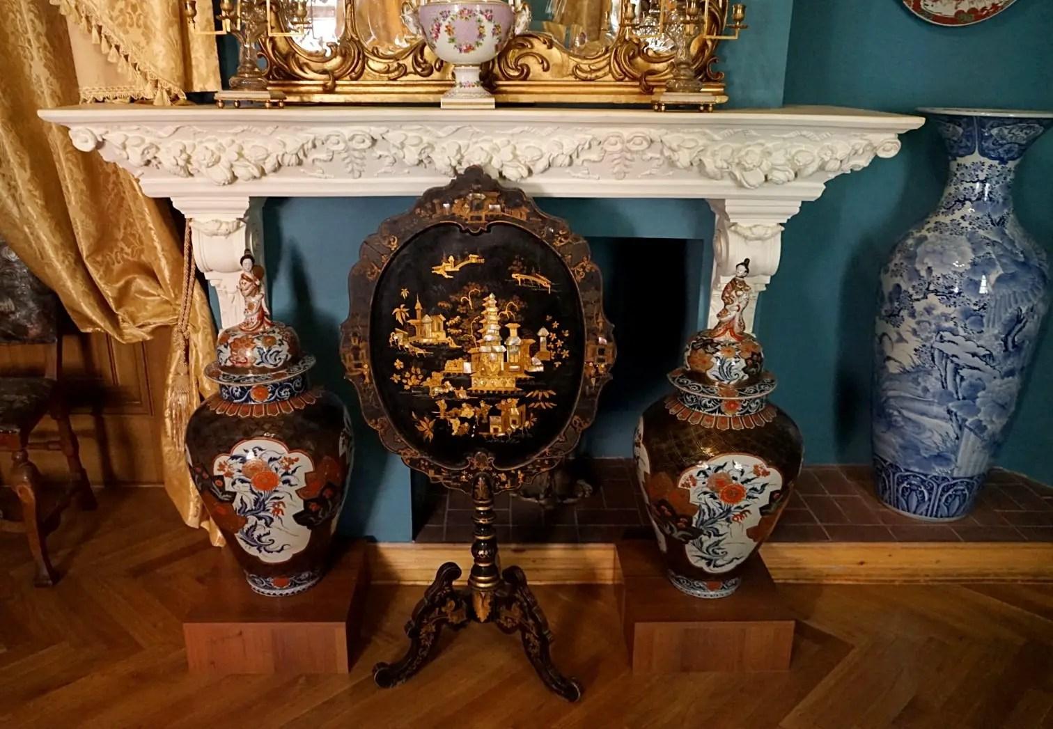 Inside Bandinelli palace in Lviv. Lviv museums