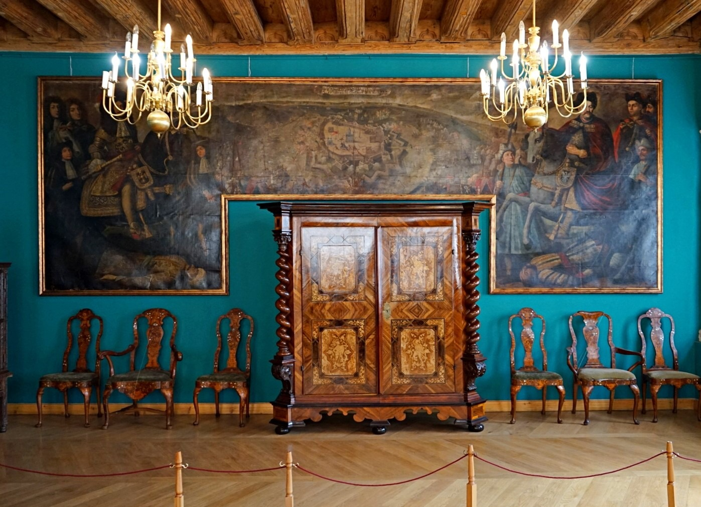 The exhibition hall in Bandinelli palace