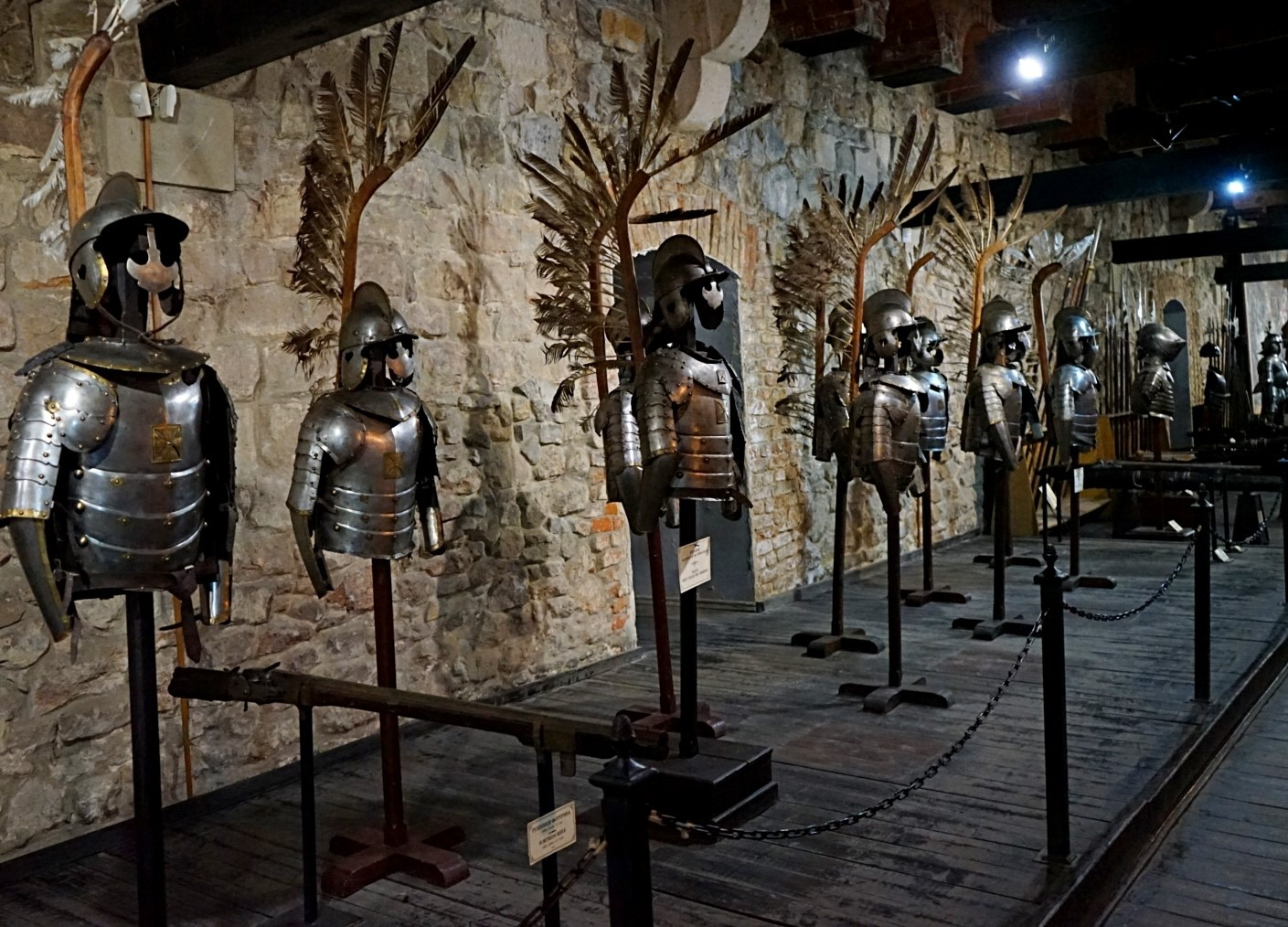 Armors at the Arsenal museum