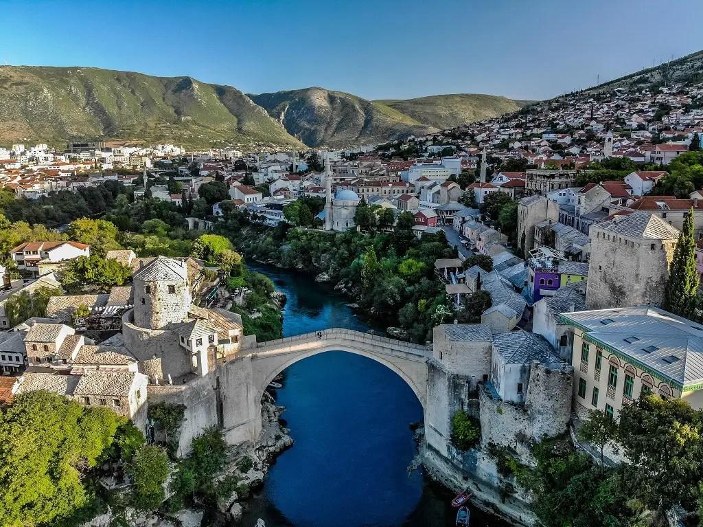 Drone photo Mostar