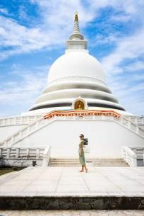 Japanes Pagoda, Sri Lanka
