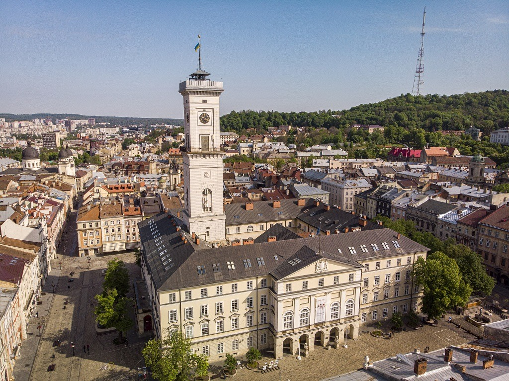 Ratusha lviv town hall