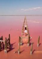 Henichesk Pink Lake