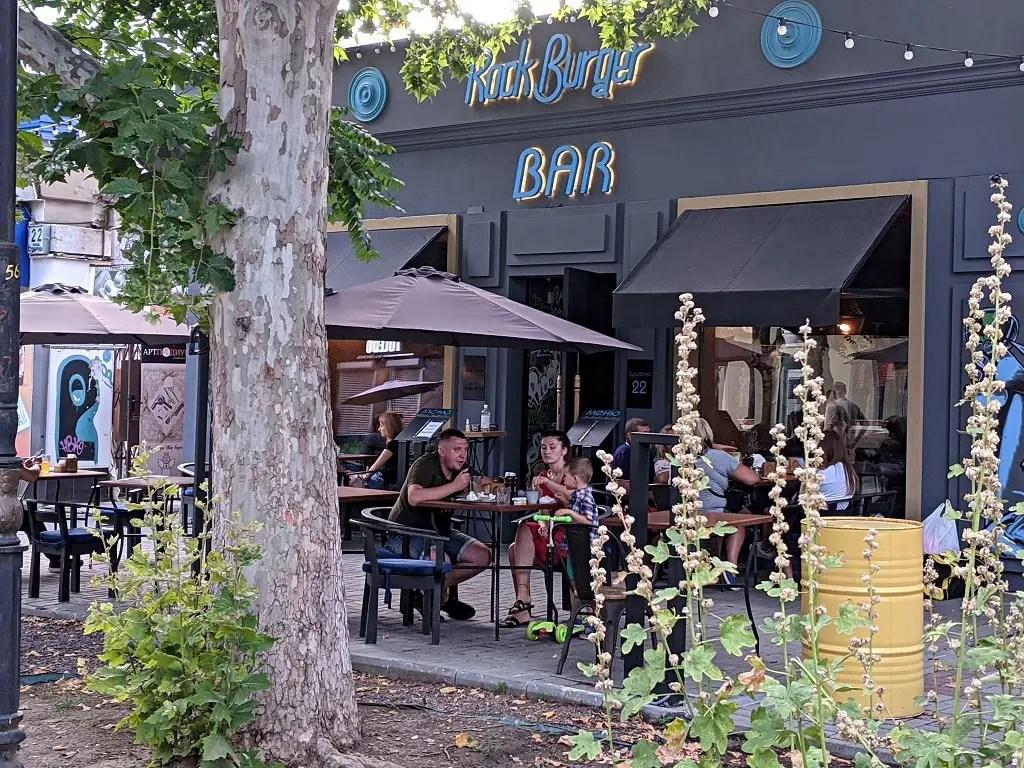 Restaurants In Kherson: Rock Burger Bar
