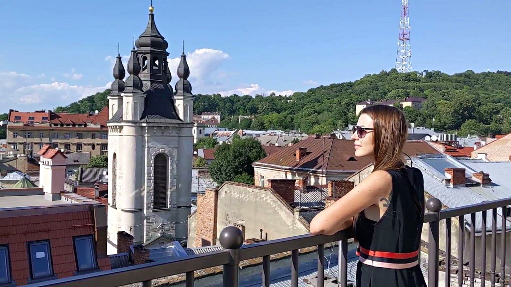 8 Places To Get The Best View Of Lviv: 36PO restaurant