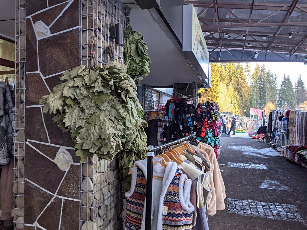 Go Shopping At The Christmas Market