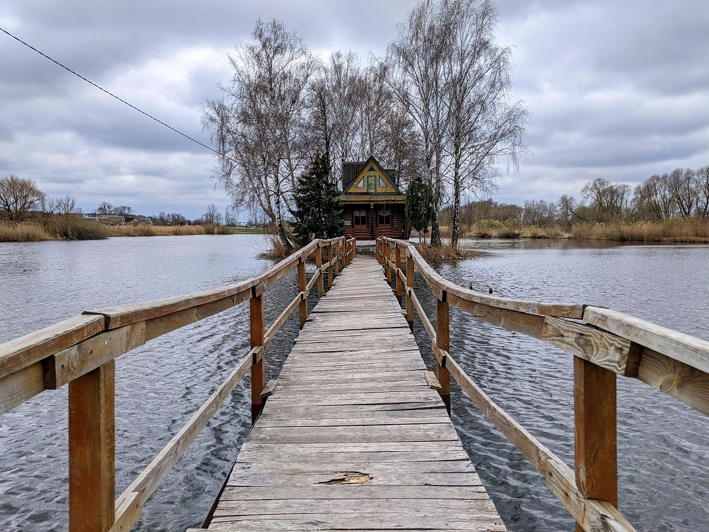 Fisherman's House, Staryi Solotvyn, Ukraine