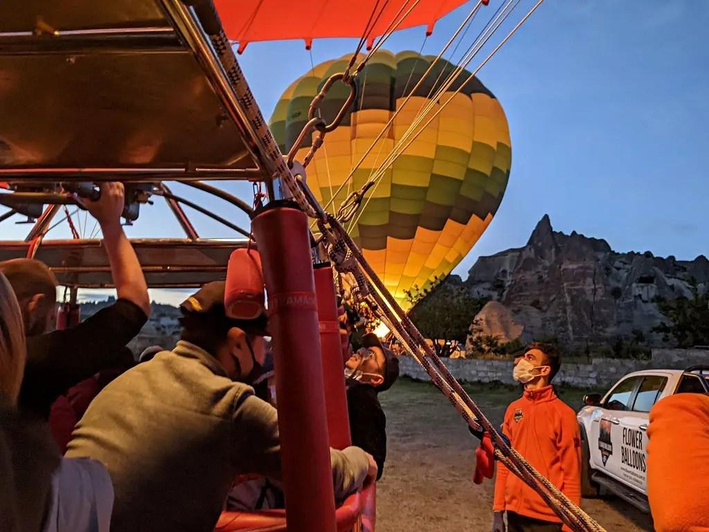 Hot Air Balloon Ride Cappadocia