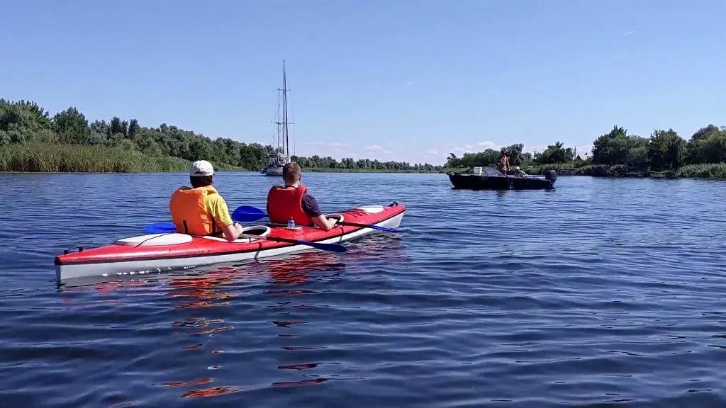 Kayaking Kherson
