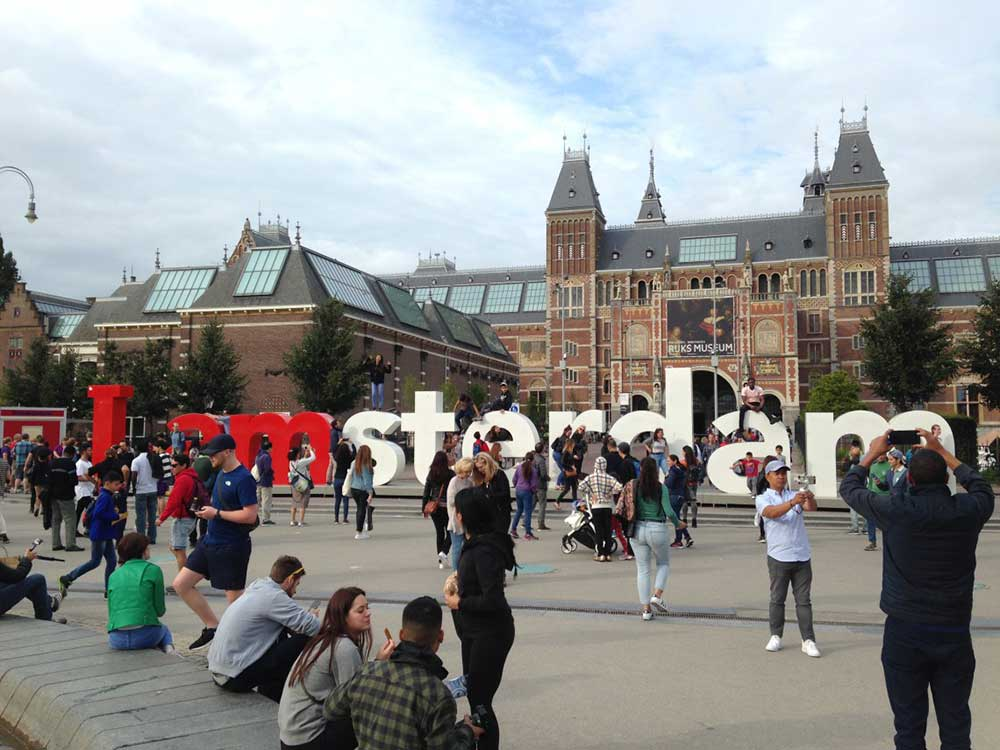 Do We Have Enough Photos of Iamsterdam Sign