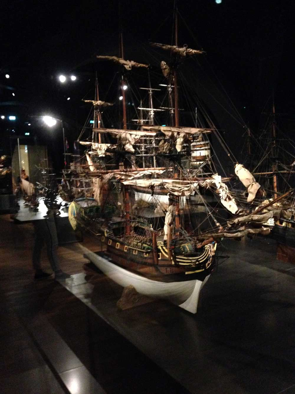 Ship in the Museum