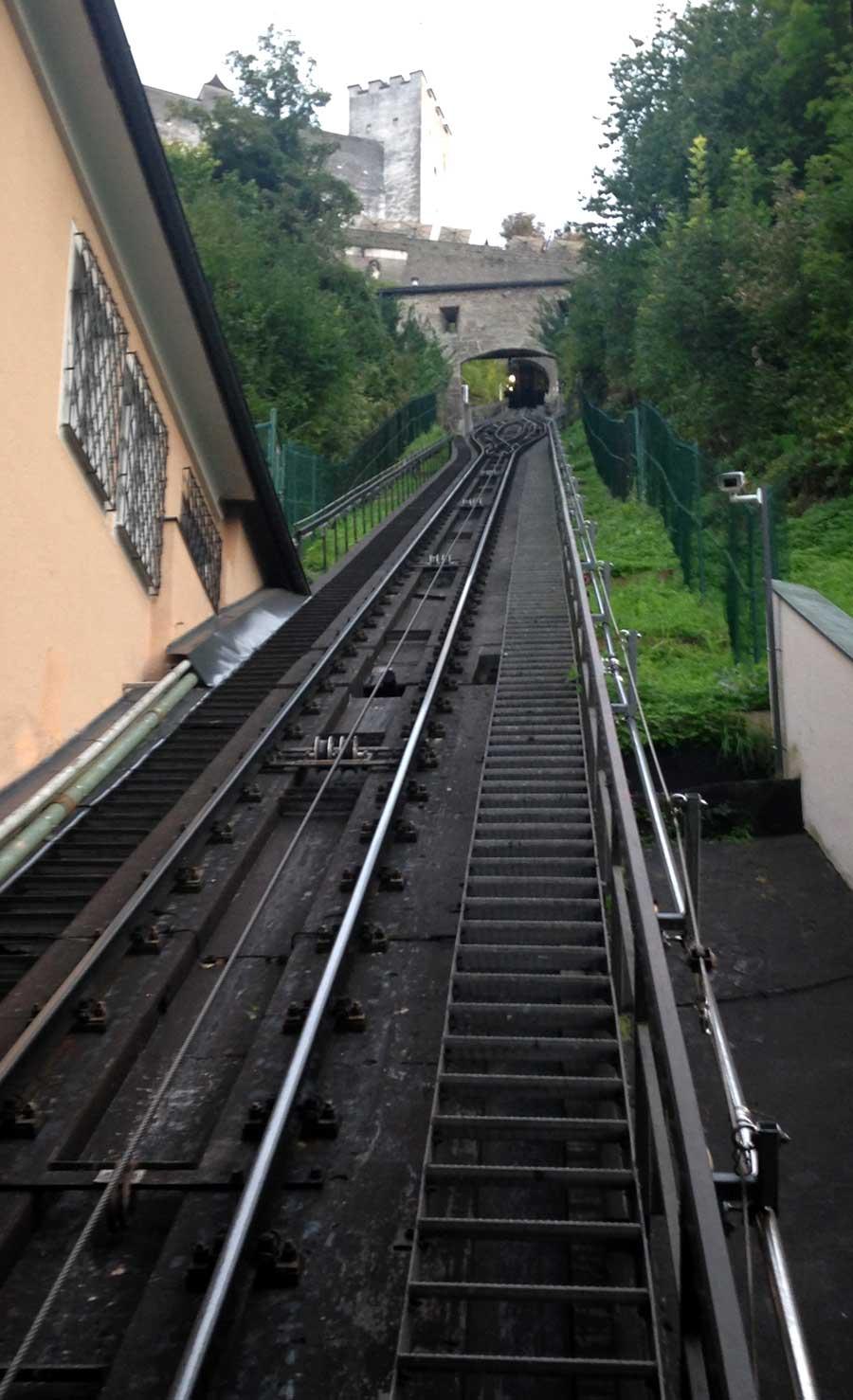 Hohensalzburg, funicular