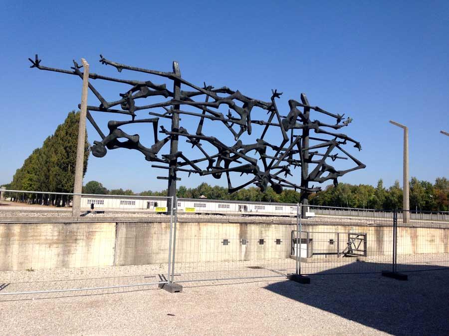 Sculpture at Dachau
