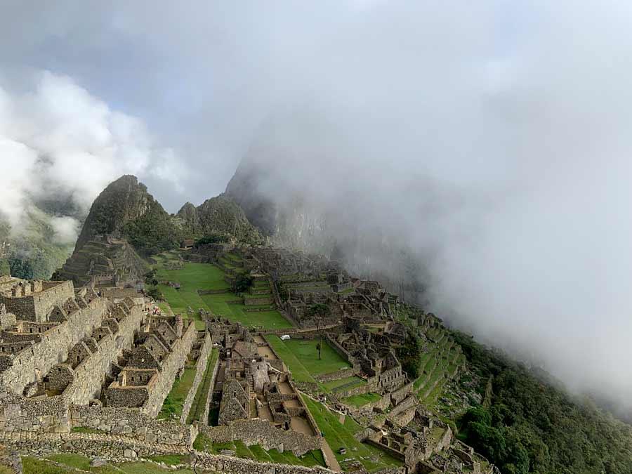 Machu Pichu Clouds