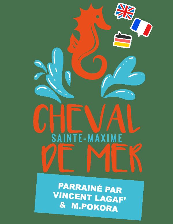 Cheval de Mer est parrainé par M Pokora et Vincent Lagaf à Sainte Maxime dans le Var
