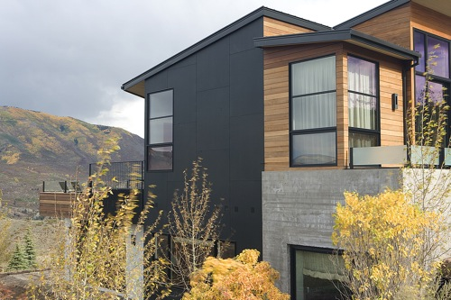 Jetson Green - EcoClad Modern Green Exterior Cladding