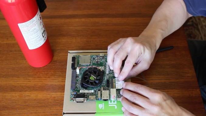 Installing an Intel 7260 onto a Jetson TK1 Dev Kit.