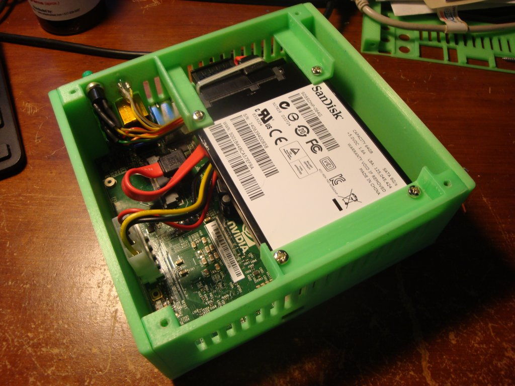 3d Printed Case Nvidia Jetson Tk1 Jetsonhacks Picture Of Make A Circuit Board That Works