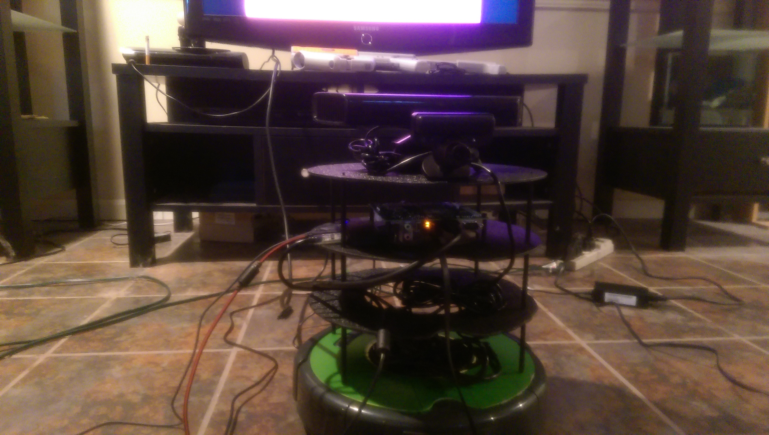 Jared Langbart's JetsonBot work in progress