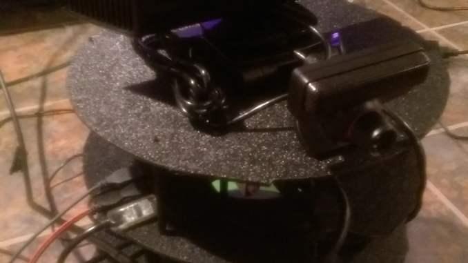 Jared Langbart's JetsonBot Cameras installed