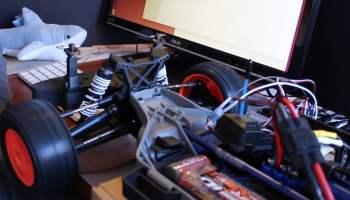 Jetson Development Kit controlling a ESC on a TRAXXAS Rally car