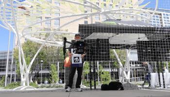 Flying Robot Demo