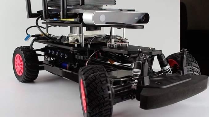 Jetson RACECAR Upper Platform