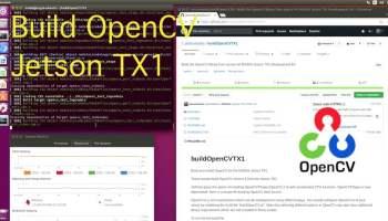 Build OpenCV on the NVIDIA Jetson TX2 - JetsonHacks