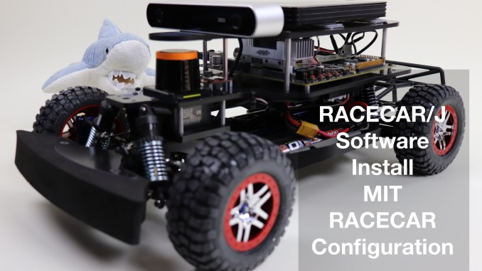 RACECAR/J Software Install