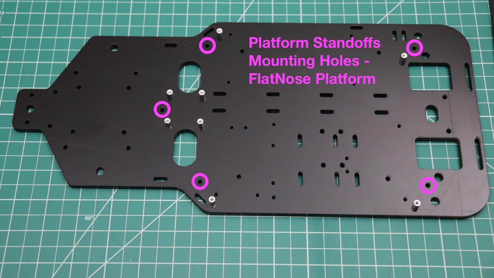 Platform Standoff Mounting Holes