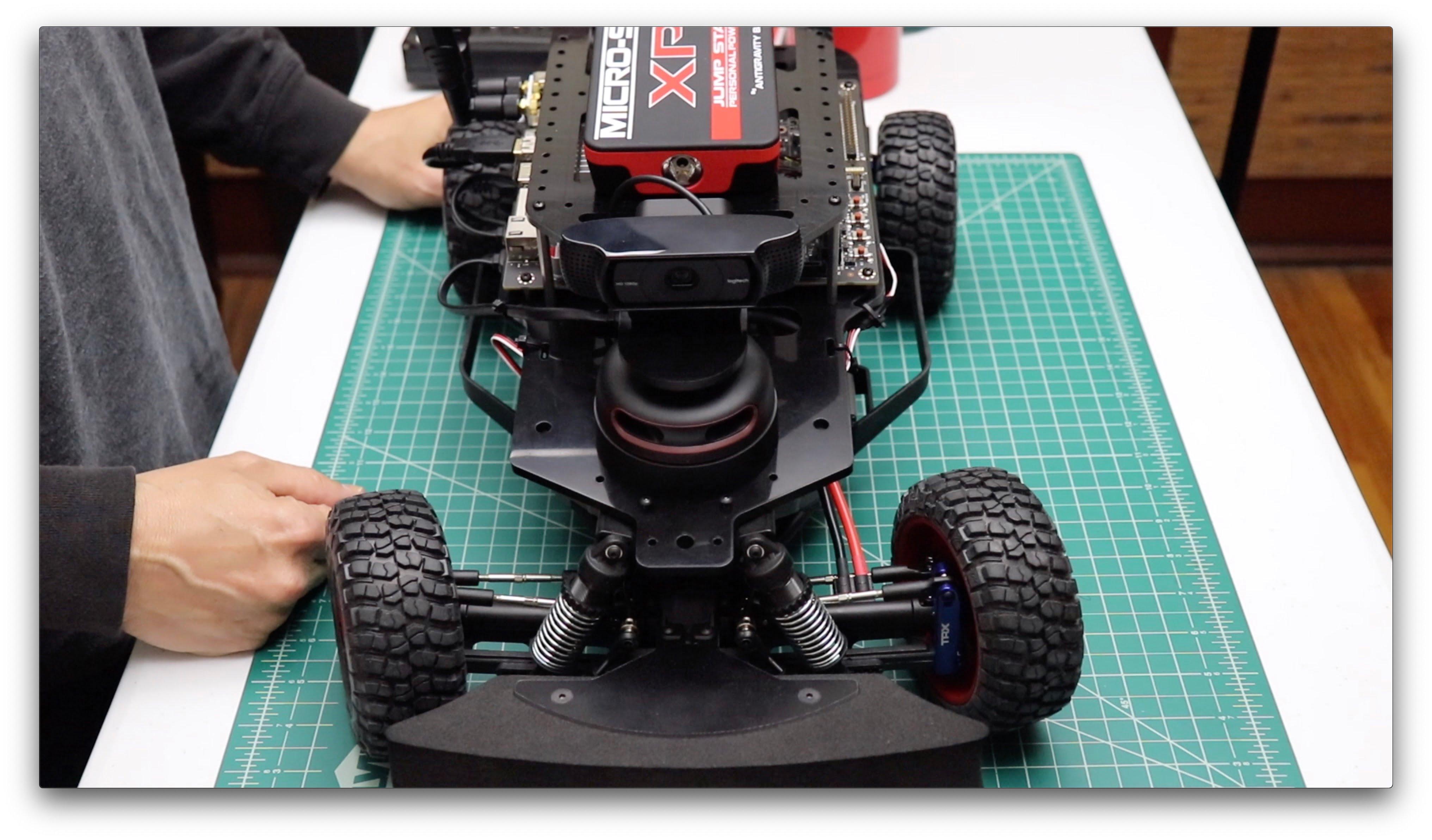 RACECAR/J FlatNose
