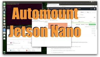 Jetson Nano Automount