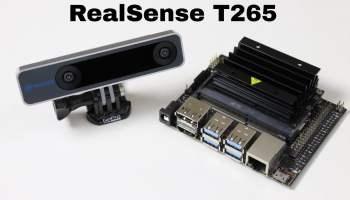 NVIDIA Jetson Nano + Intel RealSense T265