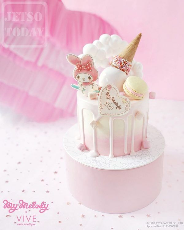 Vive Cake Boutique 期間限定 My Melody 粉紅下午茶 - Jetso Today