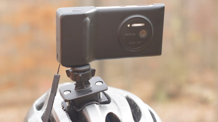 Bike Helmet Mount / Bicycle Handlebar Mount for Nokia Lumia 1020