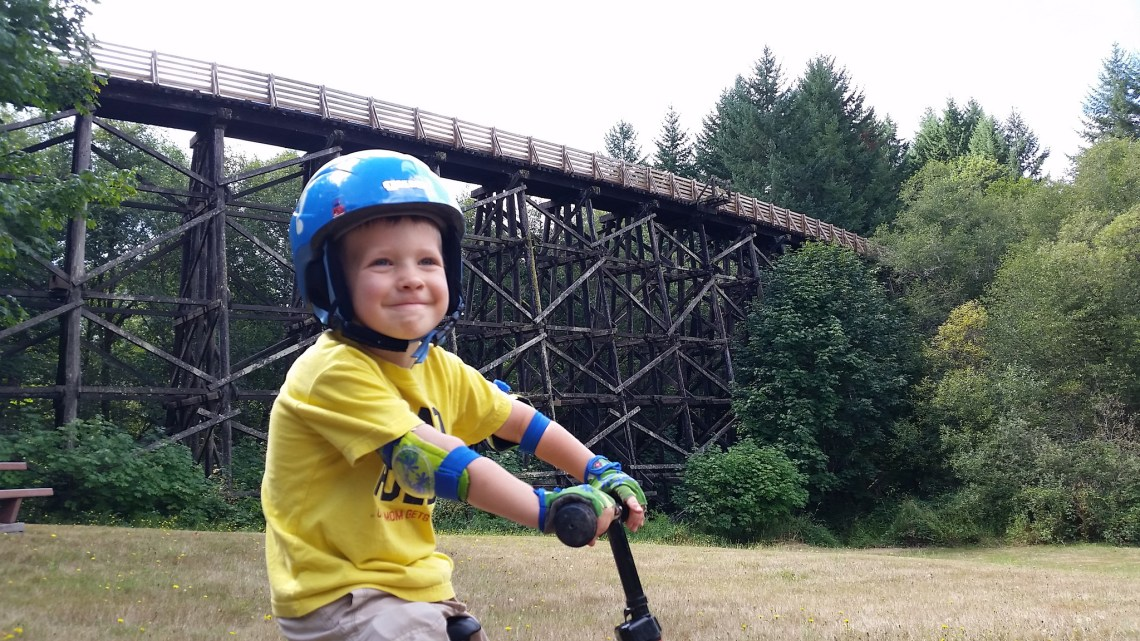 Oregon Parents:  Take A Kid Mountain Biking Day is Coming!