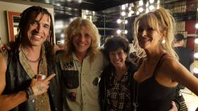 Steven Adler with Mom